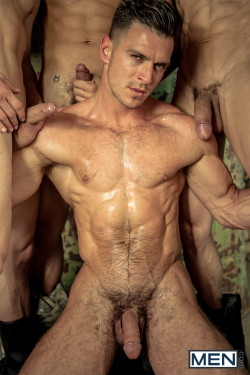 Visit MEN.com for hardcore bareback muscle action like this