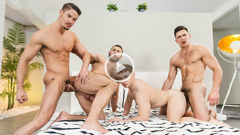 Paddy O'Brian orgy in Secret Affair Part 3 video