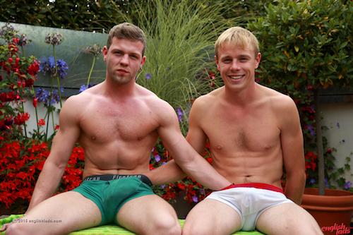 Straight Lad Joey Barton with Chris Little