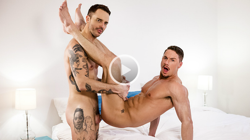 Flip flop fucking with Jason Wolfe &Skyy Knox