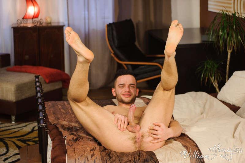 Gay porn star Boda Nurak erotic solo